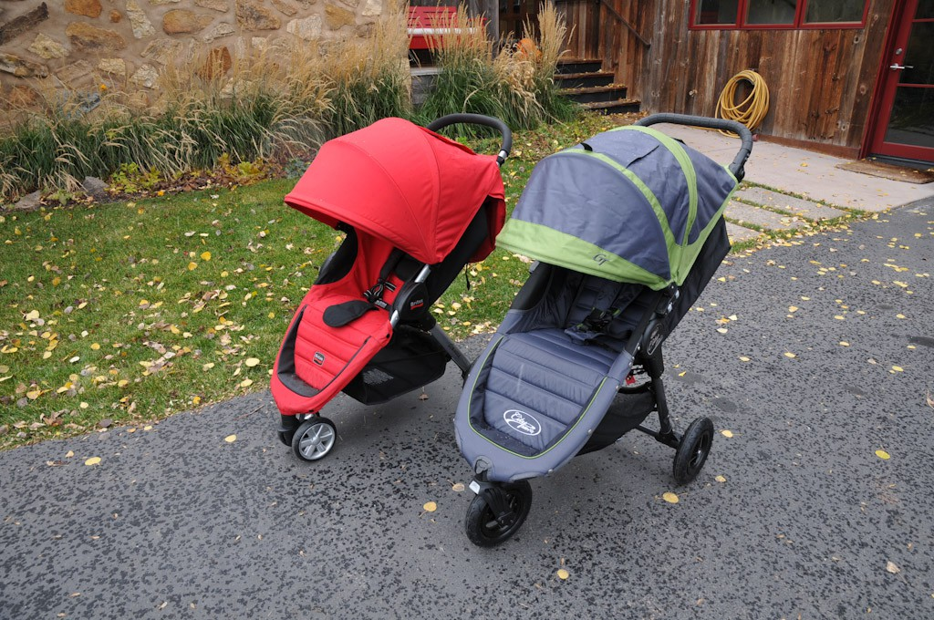 Baby Jogger City Mini Vs Britax B Agile
