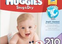 Huggies Snug and Dry Vs Little Movers