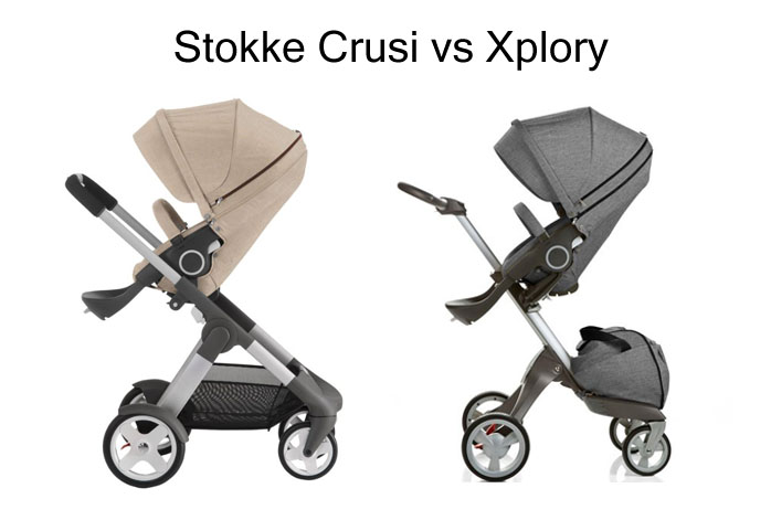 Stokke Crusi Vs Xplory