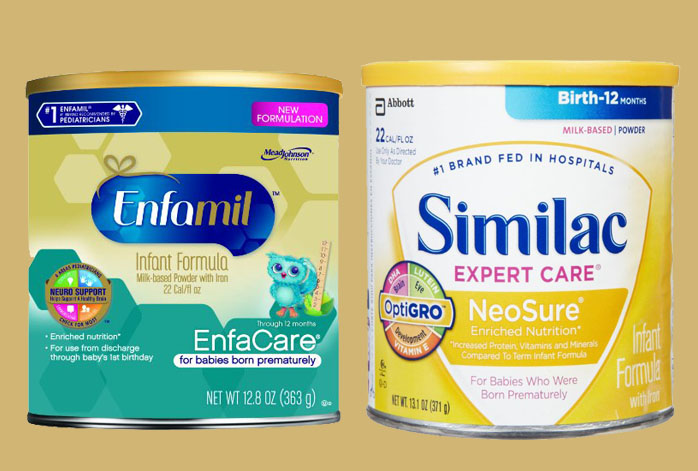 Enfamil EnfaCare Vs Similac NeoSure