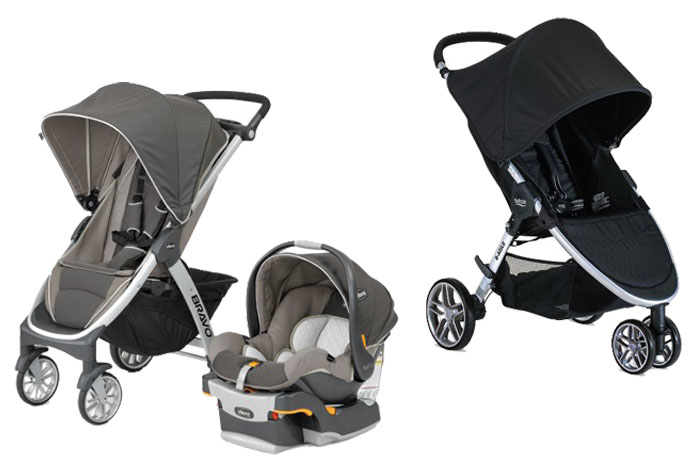 chicco bravo trio vs britax b agile. Black Bedroom Furniture Sets. Home Design Ideas