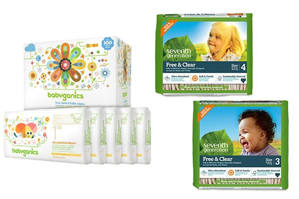 Babyganics Vs Seventh Generation Diapers