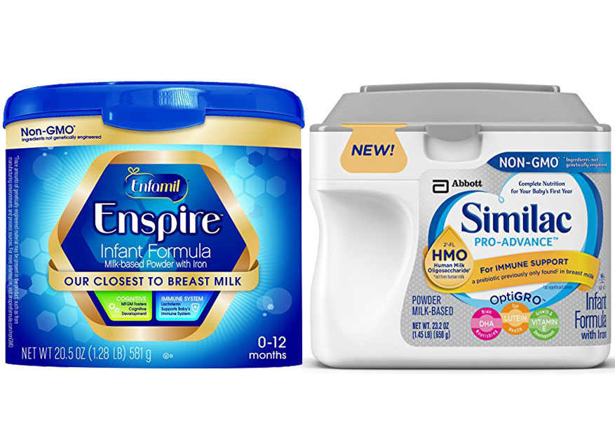 Enfamil Enspire Vs Similac Pro Advance 1