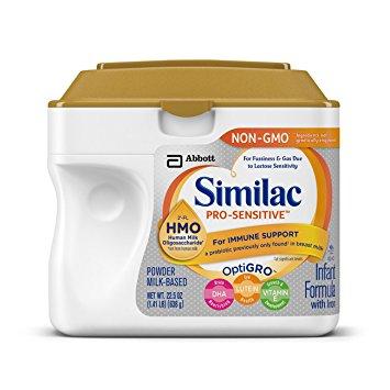 Similac Pro Advance Vs Similac Pro Sensitive 3