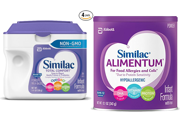 Similac Total Comfort Vs Alimentum 1