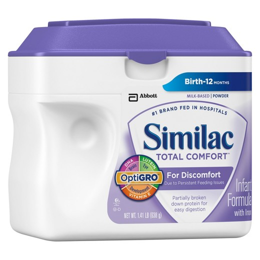 Similac Total Comfort Vs Alimentum 2