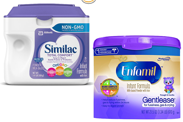 Similac Total Comfort Vs Enfamil Gentlease 1