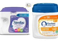 Similac Total Comfort Vs Gerber Good Start Gentle 1