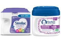 Similac Total Comfort Vs Gerber Soothe 1