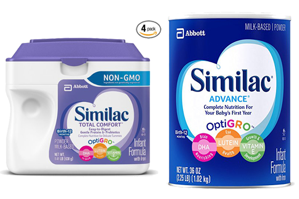 Similac Total Comfort Vs Similac Advance 1