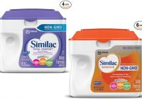 Similac Total Comfort vs Similac Sensitive 1