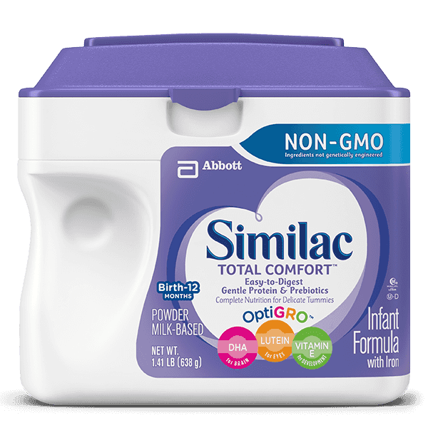Similac Total Comfort vs Similac Sensitive 2