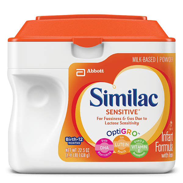 Similac Total Comfort vs Similac Sensitive 3