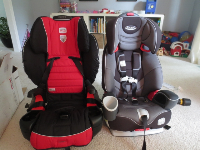 Graco Nautilus  In  Car Seat Booster Installation