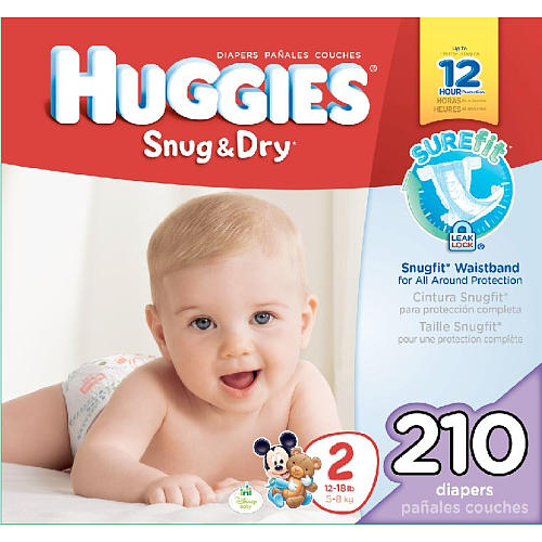 Huggies Snug and Dry Vs Little Movers