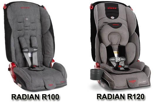 Diono Radian R100 Vs R120