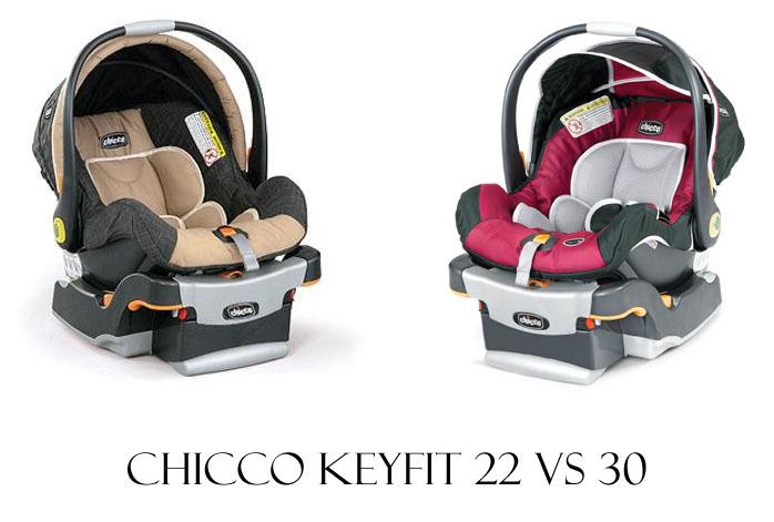 Chicco Keyfit 22 Vs 30