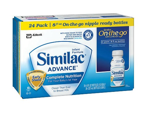 Enfamil Gentlease Vs Similac Advance