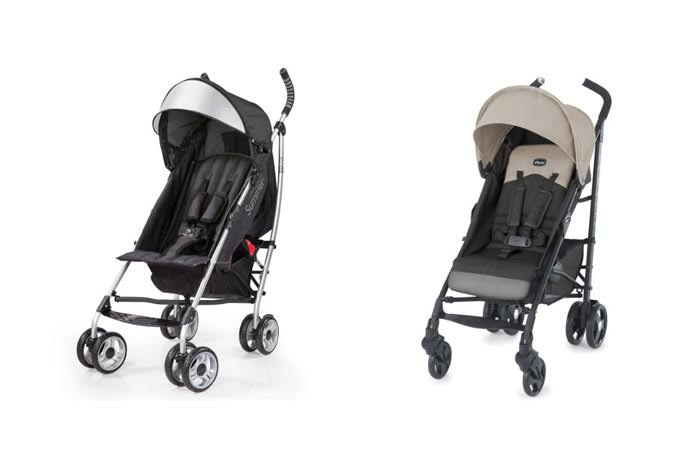 Summer Infant 3D Lite Vs Chicco Liteway