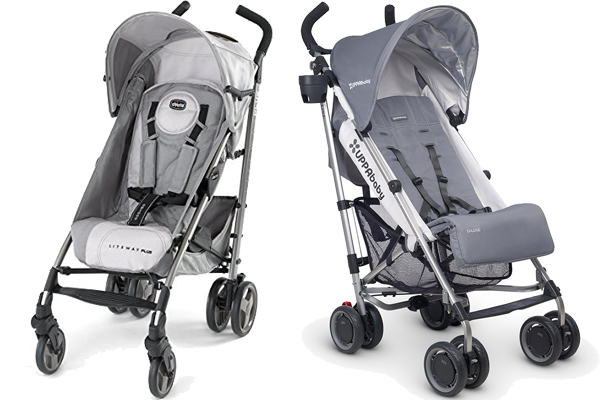 Chicco Liteway Vs Uppababy G-Luxe