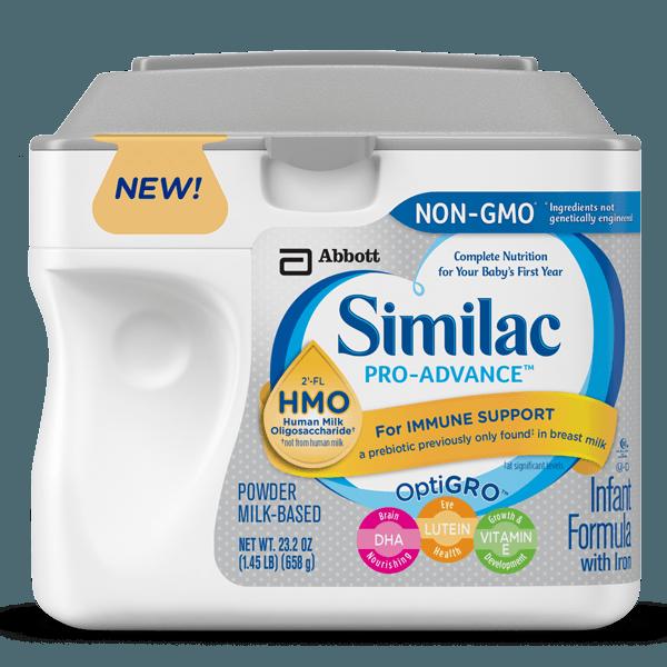 Similac Pro Advance Vs Similac Advance 2