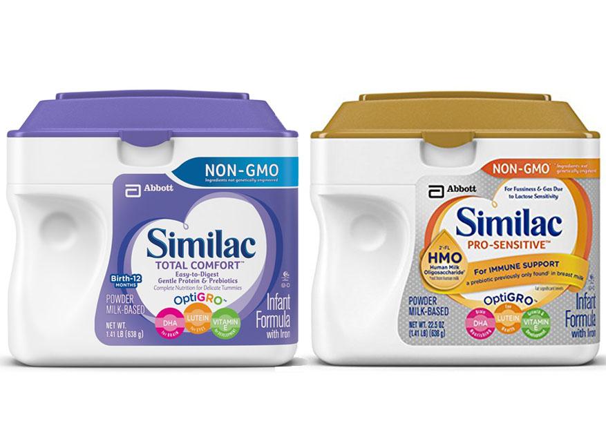 Similac Total Comfort Vs Similac Pro Sensitive 1