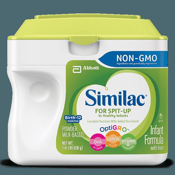 Similac Total Comfort Vs Similac Spit Up 3