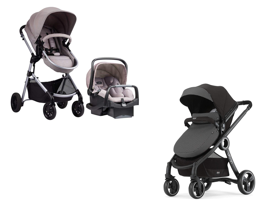 Evenflo Pivot Vs Chicco Urban