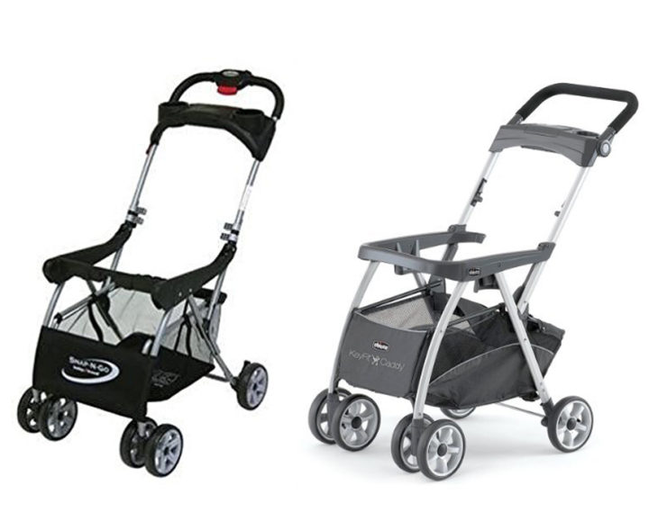 Baby Trend Snap N Go EX vs Chicco KeyFit Caddy