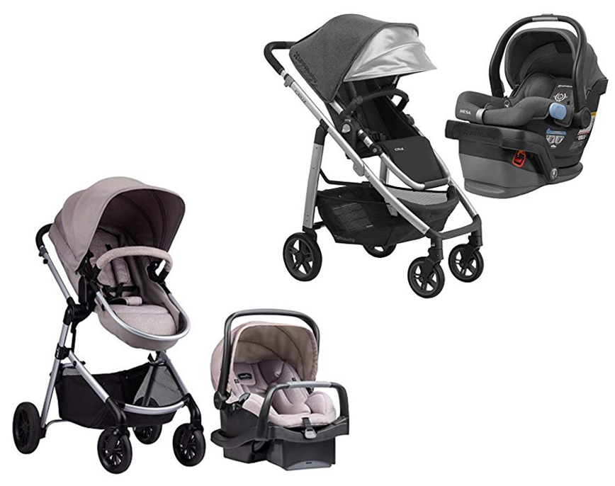 Evenflo Pivot Modular Travel System vs UPPAbaby Cruz