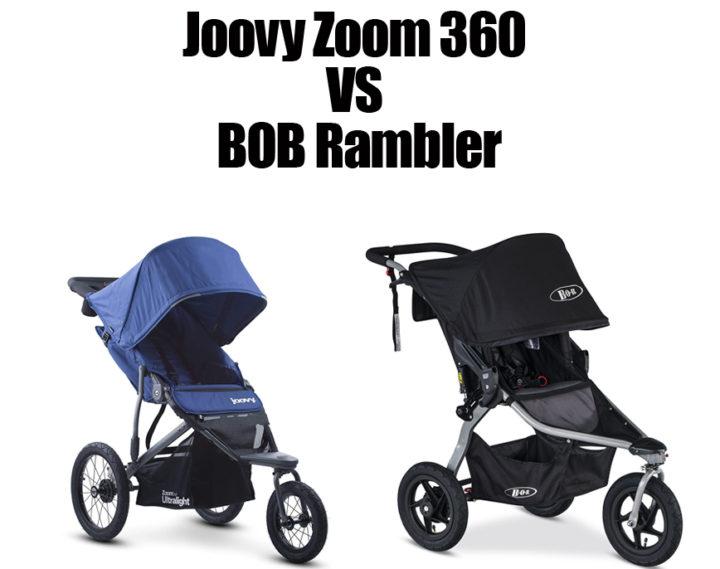 Joovy Zoom 360 vs Bob Rambler