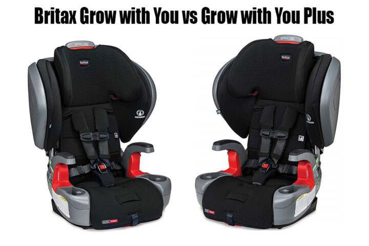 Britax Grow with You vs Grow with You Plus