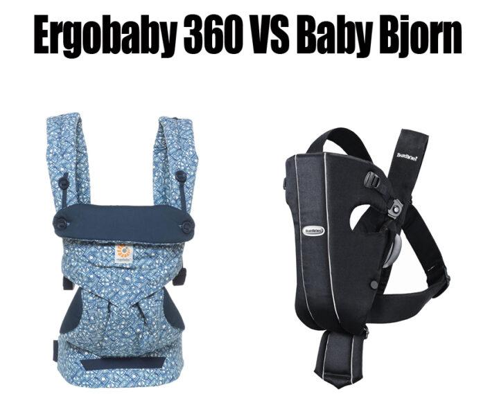 Ergobaby 360 vs Baby Bjorn